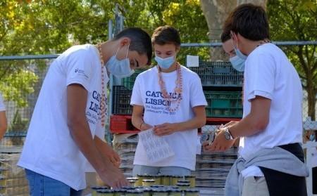 A Bolsa do Voluntariado organizou o acolhimento dos caloiros da UCP